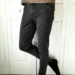 Mossimo Dark Gray Jeans Leggings